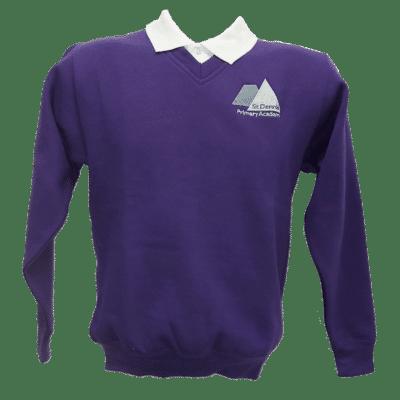 St Dennis V-Neck Sweatshirt