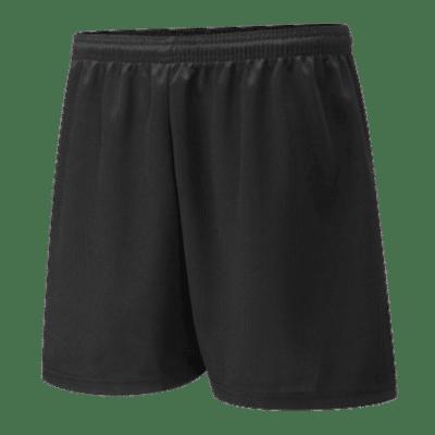 Poltair Black Eyelet Shorts