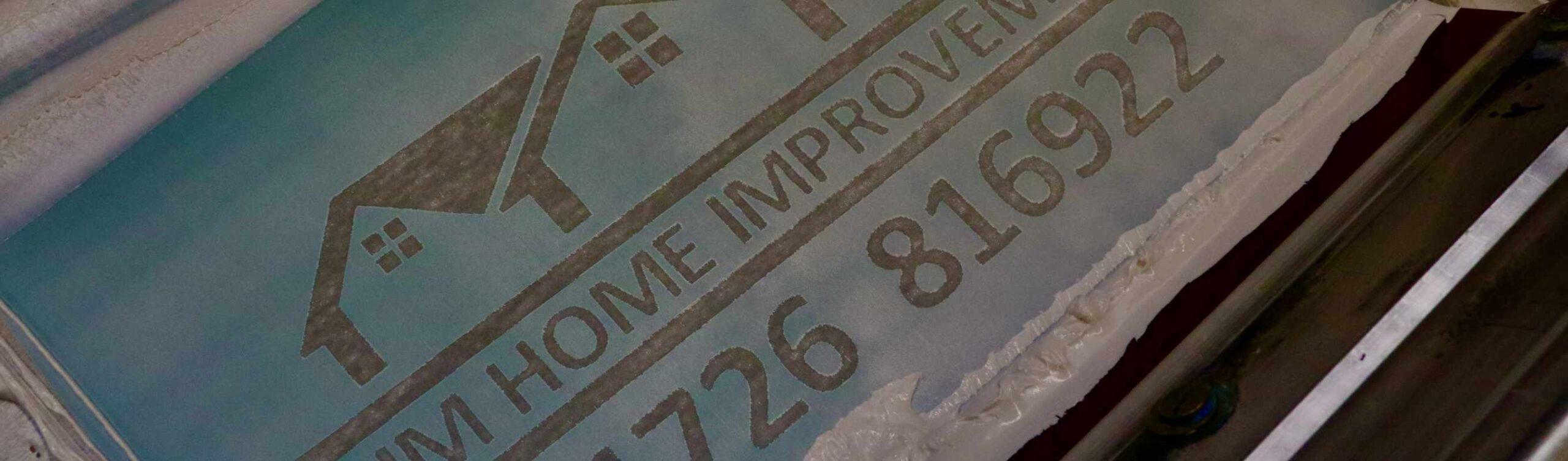 RJM Home Improvements Screenprinting