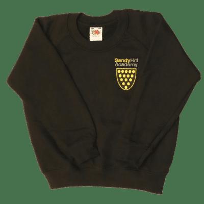 Sandy Hill Black R-Neck Sweatshirt