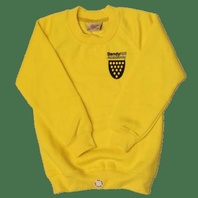 Sandy Hill Yellow R-Neck Sweatshirt