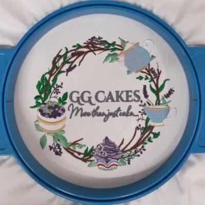 Multicolour embroidery GG Cakes