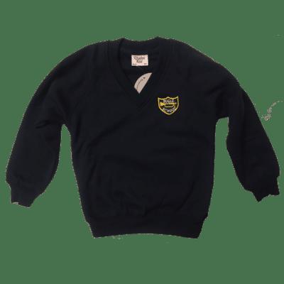 Bugle V-Neck Sweatshirt