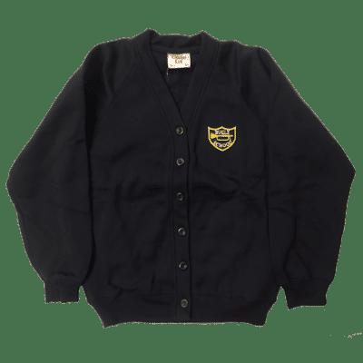 Bugle V-Neck Sweatshirt Cardigan